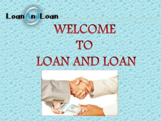 Get a loan at low interest rate
