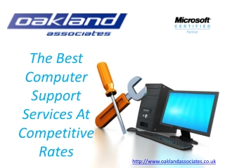 Oakland Associates - The Best Computer Support Services At