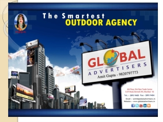 Creative Type of outdoor Media Advertising - Global Advertis