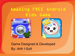 Amazing FREE Android Kids Game