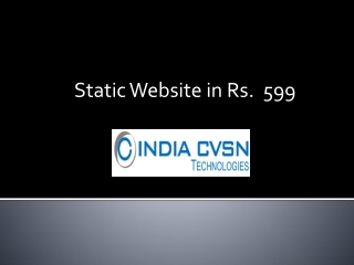 Low Cost Static Website