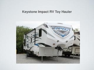 Keystone Impact RV Toy Hauler - Florida Outdoors RV