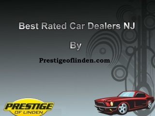 Best Rated Car Dealers NJ