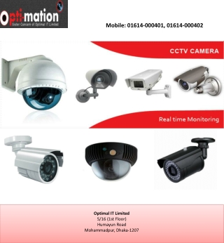 Access control, CCTV camera, DVR security system in Banglade