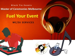 Master of Ceremonies Melbourne