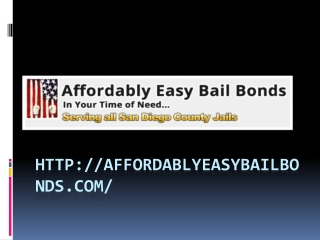 Affordably Easy Bail Bonds | Santee Bail Bonds