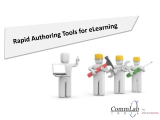 Rapid Authoring Tools for eLearning