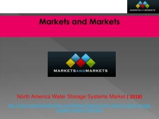 North America Water Storage Systems Market