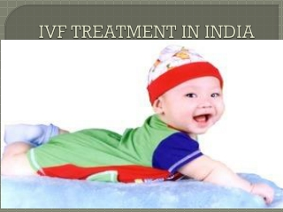 IVF Treatment in India