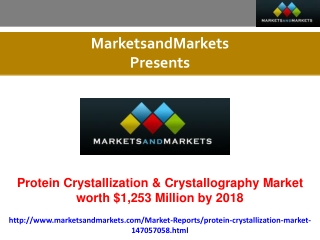 Research report on Protein Crystallization