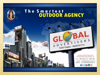 Great Deals for Outdoor Publicity in Mumbai - Global Adverti