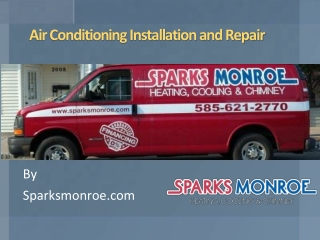 Air Conditioning Installation and Repair By Sparksmonroe