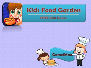 Kids Food Garden - Kids Game for FREE