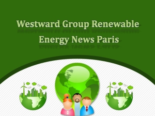 Westward Group Renewable Energy News: Leading economies