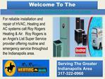 Air Conditioning Repair In Indianapolis - Heating Contractor