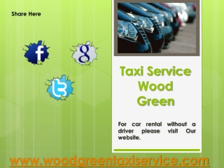 Taxi Service Wood Green