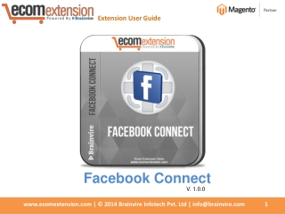 Boost your Sales using Magento Facebook Connect Extension!