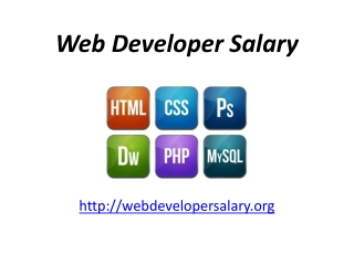 Website Development Salary
