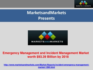 Incident and Emergency Management Market