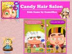 Candy Hair Salon Kids Game