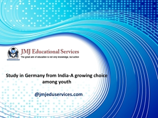 Study in Germany from India-A growing choice among youth