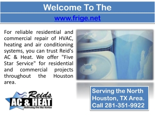 Air Conditioning Repair In Houston - Heating Furnace Repair