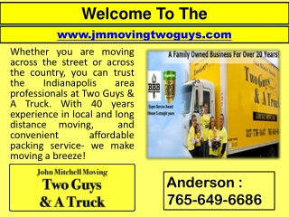 Moving Companies In Indianapolis - Interstate Movers - House