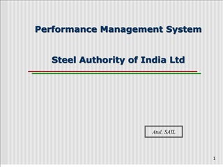 performance management system   steel authority of india ltd