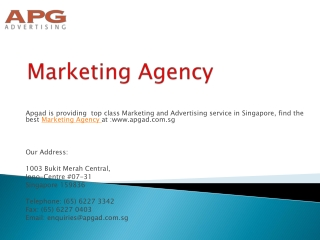 Most Famous Advertising Agency in Singapore