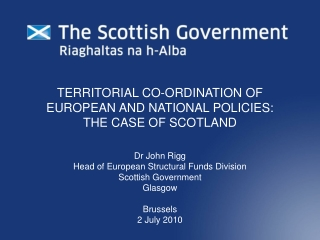the scottish government: line of sight