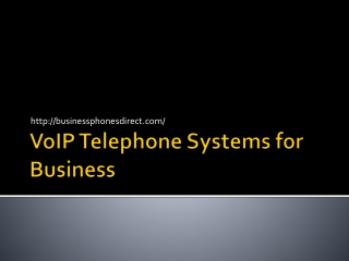 Voip Business Telephones