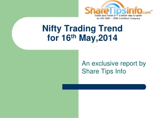 Get daily Nifty trading view from Sharetipsinfo.com