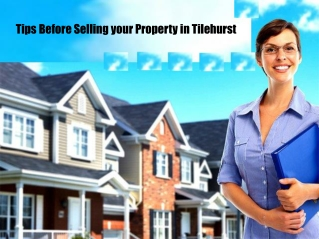 Tips Before Selling your Property in Tilehurst