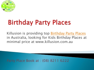 Most Famous Birthday Party Places, Karaoke Bars in Adelaide