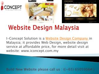 Most Famous Web Design Company in Malaysia