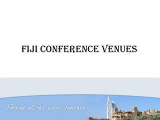 Fiji Conference Venues