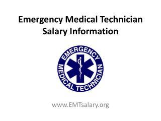 Emergency medical technician (EMT) salary