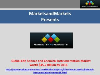 Global Life Science and Chemical Instrumentation Market