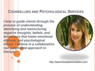 Counselling and Psychological Services