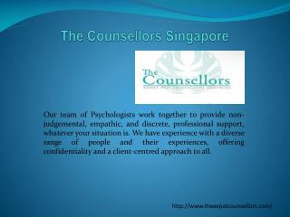 The Counsellors Singapore