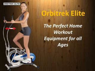 Orbitrek Elite - Best price in India- Tbuy.in