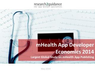 Research2guidance mHealth App Developer Economics 2014