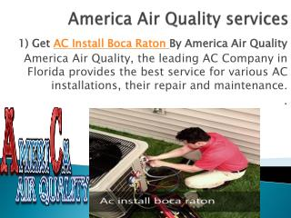America Air Quality Service