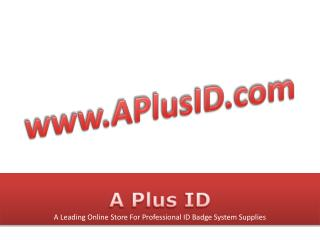 High Quality ID Badge Accessories