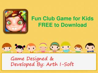 Fun club game for kids free to download