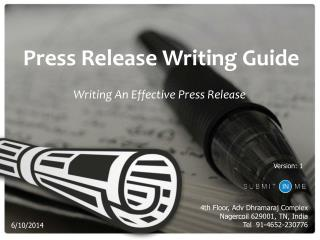 Press Release Writing – A Complete How-To Guide