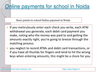 A technique can also submitted online payment for school