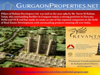 Raheja Projects in Gurgaon