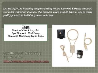 Spy Bluetooth products