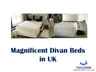 Magnificent Divan Beds in UK